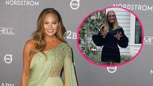 So witzig reagiert Chrissy Teigen auf Adeles Schlank-Pic
