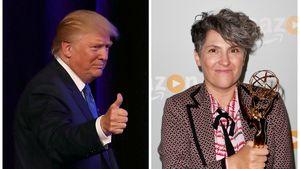 Politiker Donald Trump und Emmy-Gewinnerin Jill Soloway