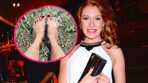 Collage: Georgina Fleur und ihre Füße