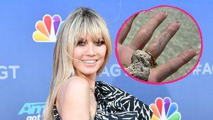 Gewusst? Heidi Klum trägt Tom-Tattoo auf ihrem Ringfinger