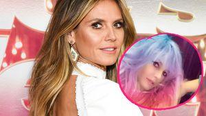 """Unicorn-Farben"": Hat Heidi Klum jetzt kunterbunte Haare?"