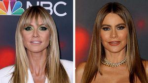 Glamourös: Heidi Klum und Sofia Vergara auf dem Red Carpet