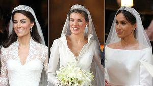 Kate, Letizia, Meghan & Co.: Das war das teuerste Brautkleid