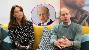 Emotionaler Brief: William & Kate vermissen Prinz Philip (†)