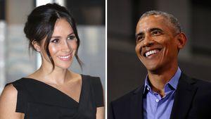 Nicht eingeladen: Herzogin Meghan wollte zu Obamas Party