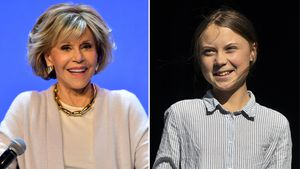 Von Greta inspiriert: Jane Fonda bei Klima-Demo festgenommen