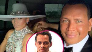 Total harmonisch: A-Rod & J.Lo mit Ex Marc Anthony unterwegs