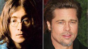 Brad Pitt bald singend mit Nickelbrille?