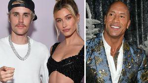"""So reagierten Justin & Hailey auf """"The Rocks"""" Babyvorhersage"""