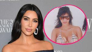 Na, schon erkannt? So sah Kim Kardashian vor 14 Jahren aus