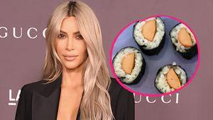 Hot-Dog-Sushi: Kim K. füttert ihre Kids mit komischen Kombis