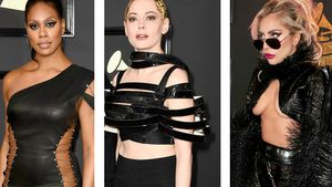Laverne Cox, Rose McGowan, Lady Gaga, Adele, Beyoncé und Rihanna auf den 59. Grammy Awards
