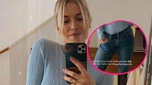 Neu-Mama Lena Gercke trägt nach einem Jahr wieder Jeans