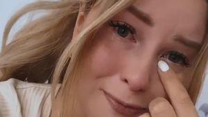 In Tränen aufgelöst: Maren Wolf hat Angst um ihren Kater