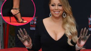 Mariah Carey verewigt sich in Zement – in High Heels!
