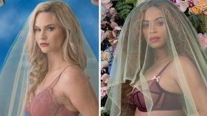 Peinlich? Baseball-Star-Frau kopiert Beyoncés Schwanger-Pic!