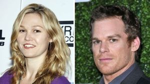 Julia Stiles und Michael C. Hall