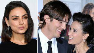 Mila Kunis: So war die Beziehung von Ashton & Ex Demi Moore!