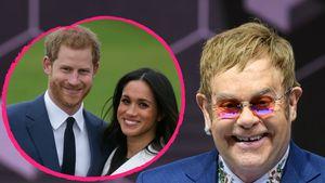 Für Harry & Meghans Hochzeit? Elton John verschiebt 2 Gigs!