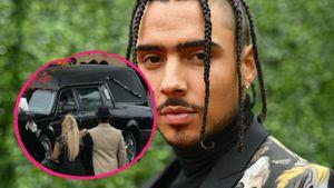 Kim Porters Beerdigung: Sohn Quincy brach auf Bühne zusammen