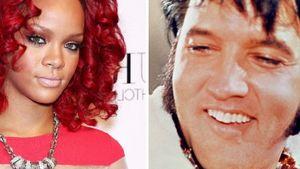 Rihanna ist genauso erfolgreich wie Elvis Presley