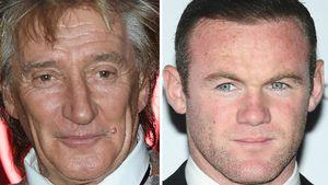Nach Alkohol- & Eheskandal: Rod Stewart hält zu Wayne Rooney