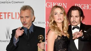 Billy Bob Thornton, Amber Heard und Johnny Depp