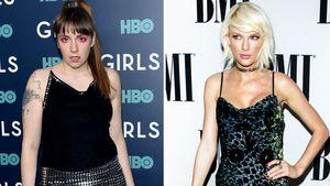 Lena Dunham und Taylor Swift