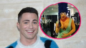 """Arrow""-Star Colton Haynes: Sexy Marge Simpson zu Halloween!"