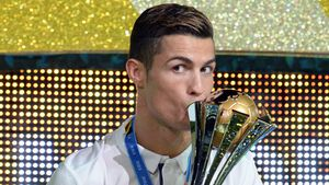 Cristiano Ronaldo beim Finale der FIFA Klub-WM in Japan