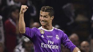 Cristiano Ronaldo in Cardiff