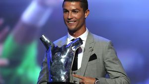 3. Mal: Cristiano Ronaldo ist Europas Fußballer des Jahres!