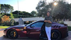 550.000€-Ferrari: Cristiano Ronaldo hat ein neues Spielzeug!
