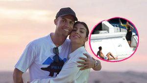 Hier genießen Cristiano Ronaldo und Georgina Luxus-Ausflug
