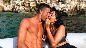 Heiße Küsse mit Georgina: So urlaubt Cristiano nach WM-Aus
