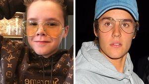 Cruz Beckham und Justin Bieber