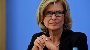 Dagmar Wöhrl auf der Bundespressekonferenz in Berlin