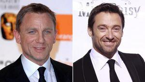 Daniel Craig und Hugh Jackman
