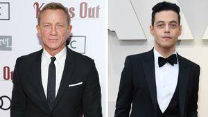 """""""James Bond""""-Set: Daniel Craig und Rami Malek küssten sich!"""