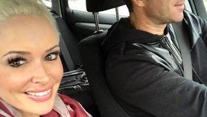 Daniela Katzenberger und Lucas Cordalis im Auto