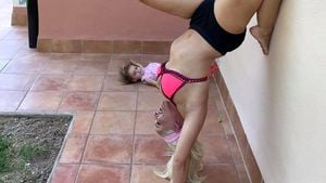 Dani Katzenberger im Yoga-Fieber: Sogar Sophia (1) macht mit