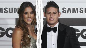 Daniela Ospina und James Rodriguez