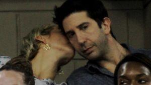 Süß: Ein Küsschen für Friends-Star David Schwimmer