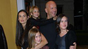 Stolz wie Bruce: Willis dank Mabel & Evelyn im Papa-Glück
