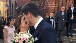 XXL-Sause! So schön haben Denise Temlitz & Pascal geheiratet