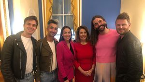 "Superhappy: ""Queer Eye""-Cast trifft Alexandria Ocasio-Cortez"