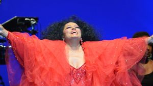 Hilfe! Diana Ross ist ein rotes Tüll-Monster