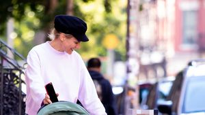 Seltener Anblick: Diane Kruger mit ihrer Tochter in New York
