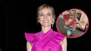 Mini-Superheldin: Diane Kruger teilt rares Foto von Tochter