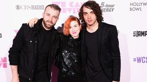 Die Band Paramore in Los Angeles 2014